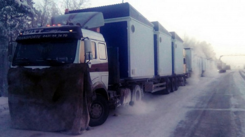 Замерзающие дальнобойщики ра…