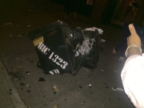 Взрыв в Нью-Йорке: 26 челове…