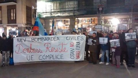 Митинг в Испании: жители Мадрида потребовали разорвать связи с Киевом из-за ситуации на Донбассе