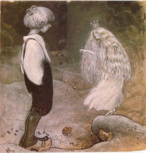 Почему рассказы очевидцев о встречах с эльфами и феями так похожи на встречи с пришельцами?