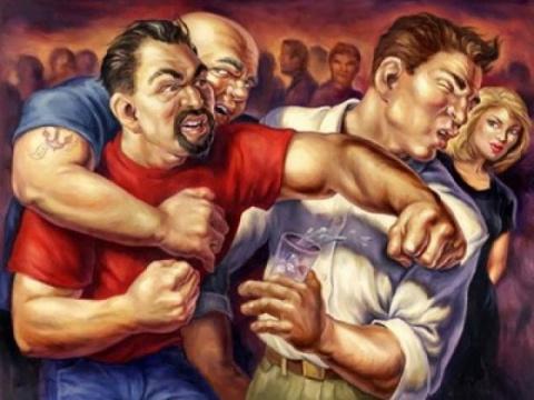 "Московские работяги избили ""…"