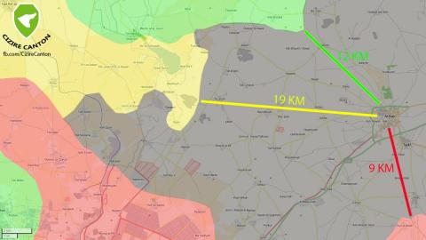 Гонка к Аль-Бабу и курдский вопрос