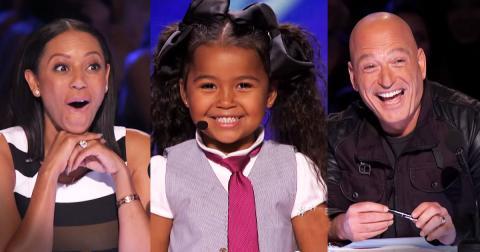Эта 5-летняя малышка покорила судей своим голосом