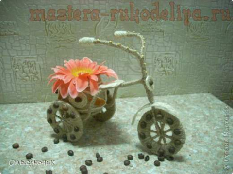 Шпагатный велосипед. Мастер-класс