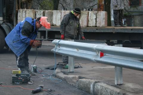 В Калининграде открыли движение по ремонтируемому мосту