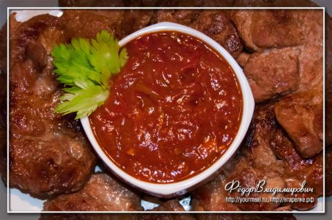 Домашний томатный соус. Альтернатива кетчупу