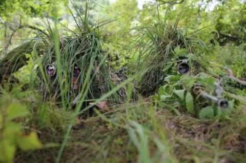 Полевой выход снайперов морс…
