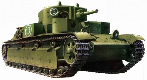 Рейд одинокого танка по заня…