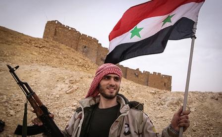 Сначала года сирийская арми…