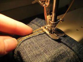 Подшивка брюк, юбок своими руками