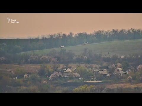 «Радио Свобода»  выложило на своем канале видео момента недавнего взрыва автомобиля миссии ОБСЕ в ЛНР
