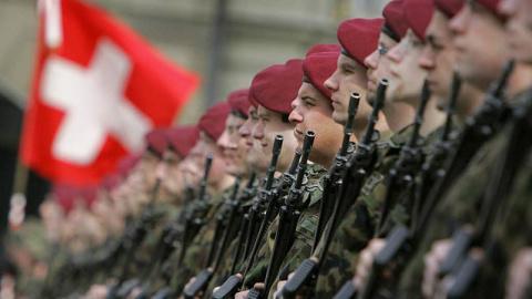 Армия Швейцарии: бронепоезд …