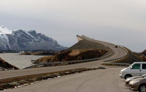 На дорогах Норвегии: «Вниман…
