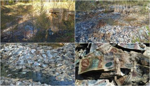 Миллиард советских рублей в заброшенной ракетной шахте