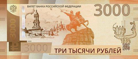 """Киев - 3000: """"новая российская купюра"""" взорвала соцсети"""
