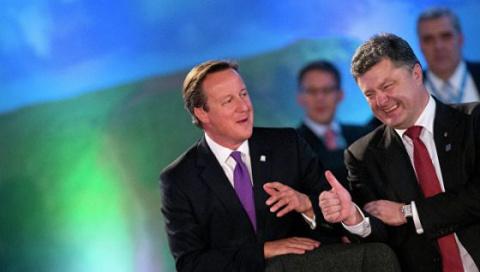 Порошенко и Кэмерон обсудили вопрос сохранения санкций против России