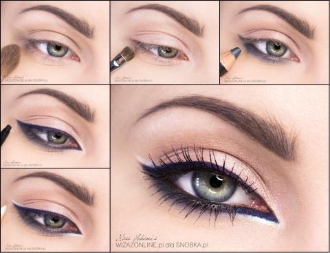 Увеличиваем глаза