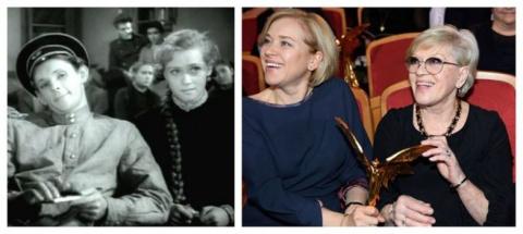Актёры в своих первых фильмах и в наши дни