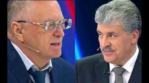 Опросы: Жириновский и Грудин…