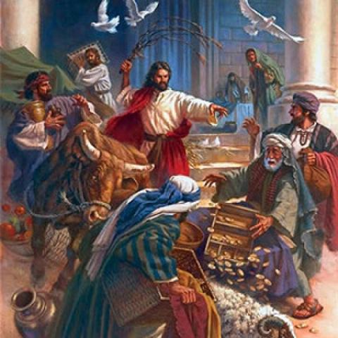 Спасая экономику Рима, Христос прогнал из храма менял