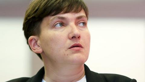 Савченко сделала громкое зая…