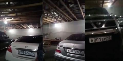 В Северной Осетии племянник прокурора выдал многомиллионный автопарк дяди
