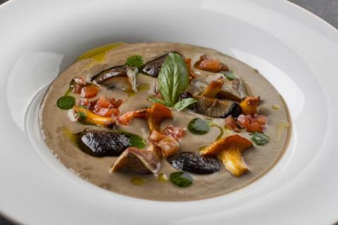 Блюда с грибами по европейск…