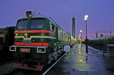 Российский военный поезд «Ба…