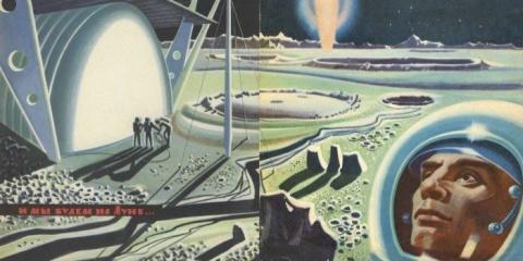 Будущее глазами советских людей: летающие автомобили, подземные города и сапоги-скороходы