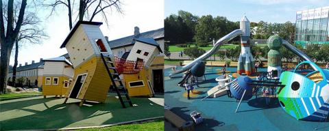 Детские площадки от датской …