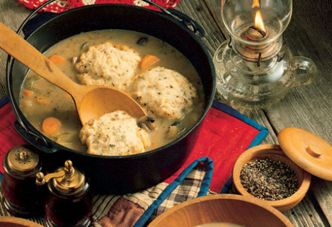 Рецепты по четвергам. Клёцки, ньокки, галушки, вареники. Рыбные галушки в огуречном соусе