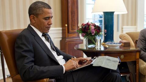Обама покинул США