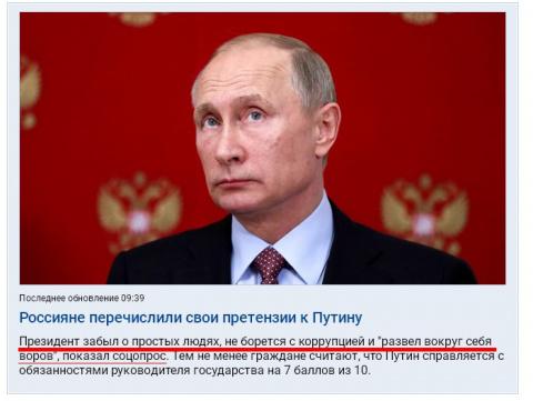 Все грехи Путина