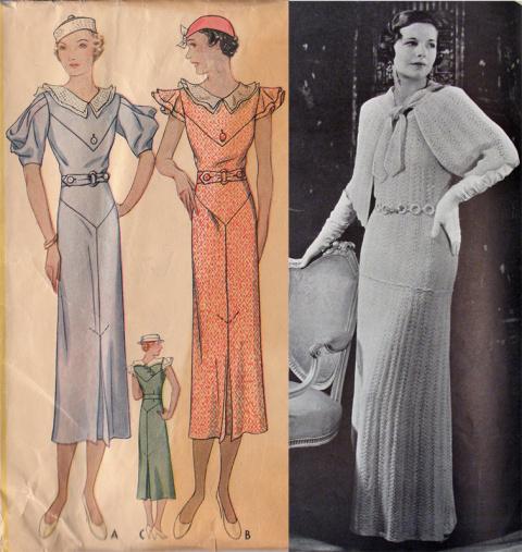 Ретро. Одежда и аксессуары в стиле 30-х годов