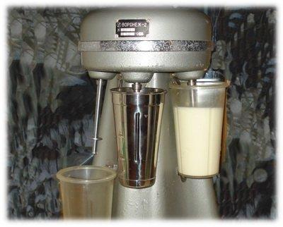 Молочный коктейль советского детства