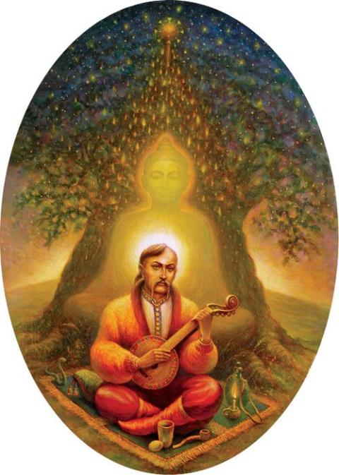 Казак Мамай как зеркало украинской духовности