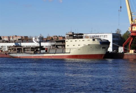 Строительство морского буксира «Сергей Балк» для ВМФ России