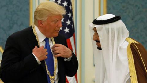 Новости мира: США и Саудовская Аравия согласовали оборонные контракты на $110 млрд