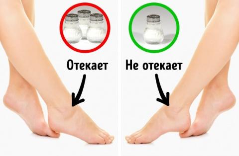 7 вещей, которые чувствует человек, когда в его организме переизбыток соли