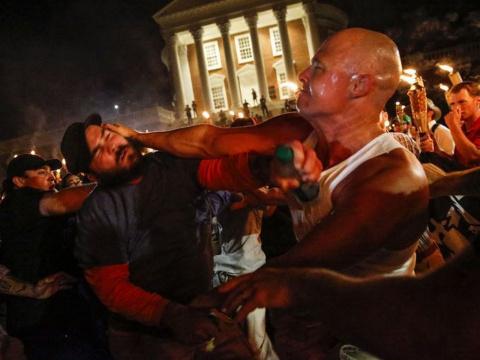 Шарлоттсвилль стал реакцией американцев на борьбу с прошлым. Ирина Алкснис