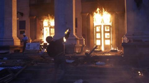 Украинская полиция потеряла улики по делу о пожаре в Доме профсоюзов