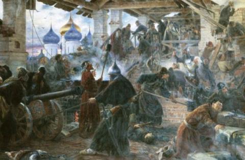 Бой у стен Троицкой обители