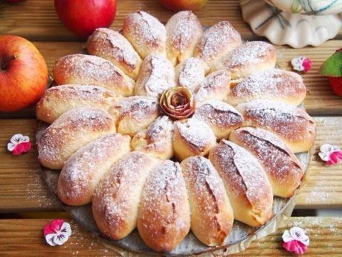 Десертный вихрь. Отрывной яблочный пирог