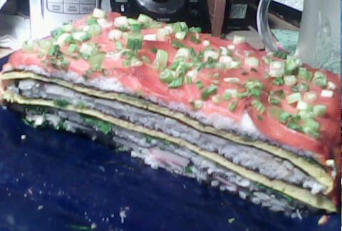 Суши-тортик