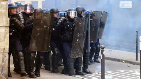 Русские под Парижем напугали…