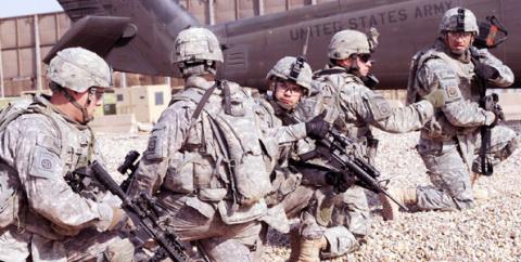 Пентагон «готовится к земле» в Сирии