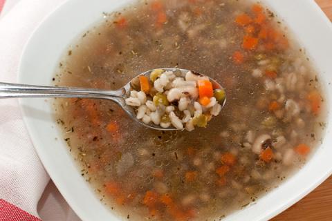 ДЕНЬ ПЕРВОГО БЛЮДА. Тосканский суп (вып. 4)