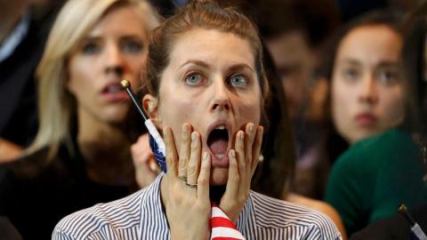 Слёзы в штабе Клинтон