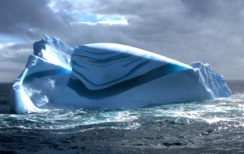 Айсберги, лед и снег. Необыч…