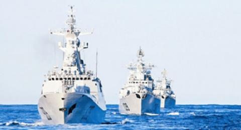 Китайские патрульные корабли…